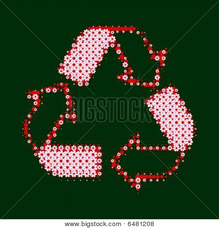 Recycle Flower Pink