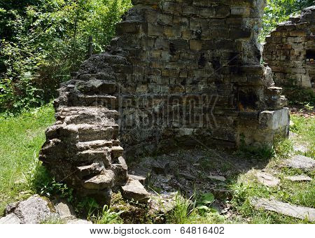 Destroyed Old Church