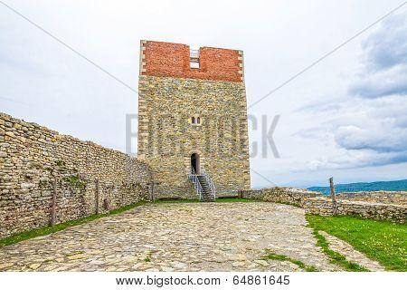Fortress at Medvedgrad castle in Zagreb, Croatia poster
