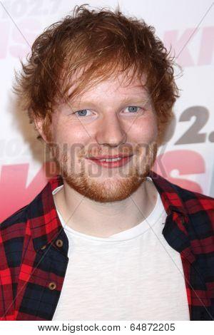 LOS ANGELES - MAY 10:  Ed Sheeran at the 2014 Wango Tango at Stub Hub Center on May 10, 2014 in Carson, CA