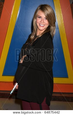 LOS ANGELES - MAY 6:  Linsey Godfrey at the Bold & Beautiful Celebrates Emmy Nominations at CBS Television City on May 6, 2014 in Los Angeles, CA