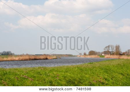 River The Eem In Holland