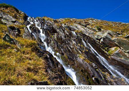Waterfall on the high moss - Stubai Valley