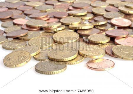 Small euro money