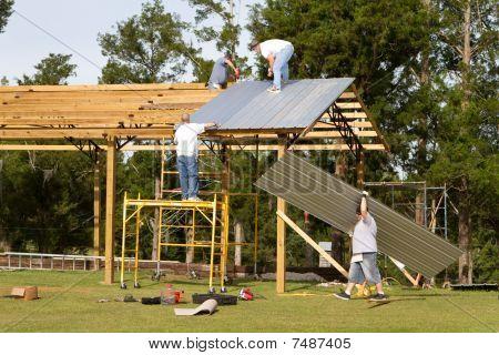 Barn Construction