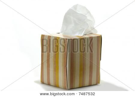 Anti-viral Facial Tissue