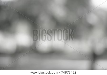 Silver Bokeh Textured Background