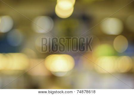 Night Lights At A Festival