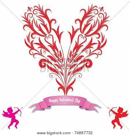Heart Love Card