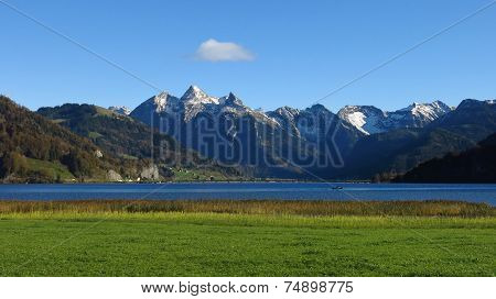 Shed At Lake Sihlsee, Hoch Ybrig