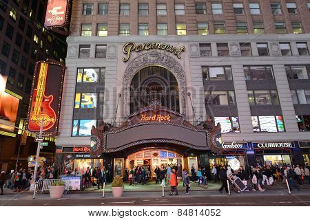 Paramount Theatre, Times Square, Manhattan, NYC