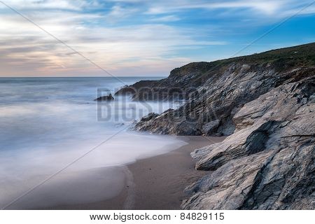 Cornwall Coast At Newquay
