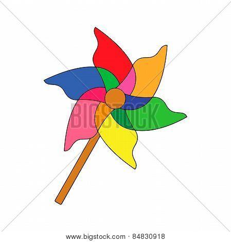 Children's toys : pinwheel