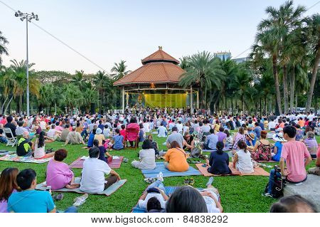 Concert In The Park By Bangkok Symphony Orchestra At Lumpini Park