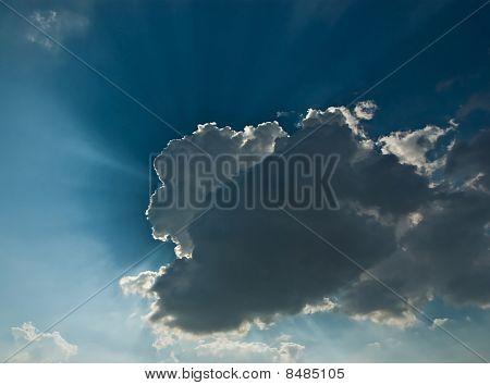 Sun Behind A Cloud