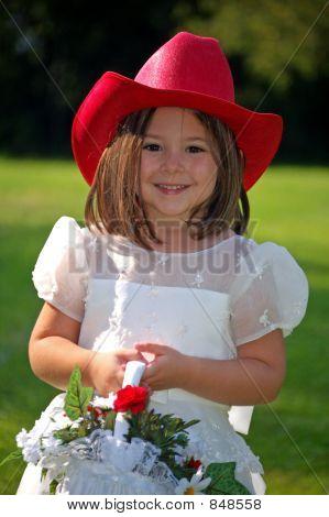 Country Flower Girl