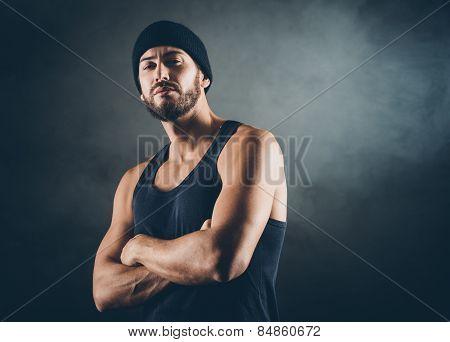 Bad Boy Posing
