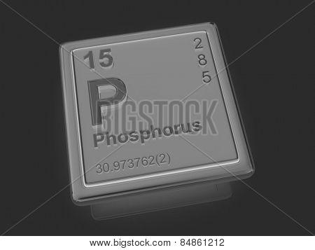 Phosphorus. Chemical element. 3d