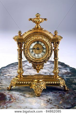 French Gold Clock.