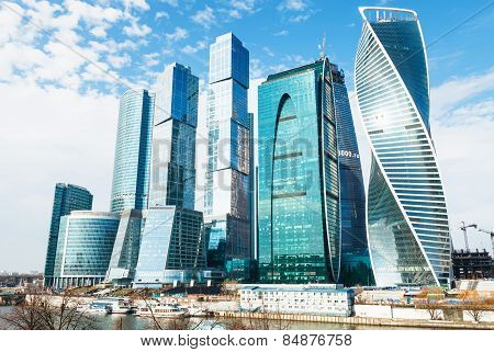 Towers Of Moscow City Business District