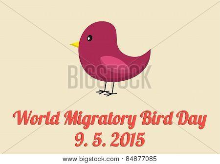 World Migratory Bird Day Card