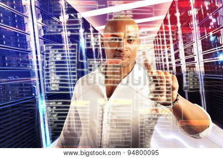 Touch virtual database