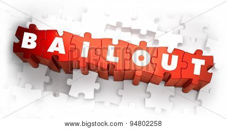 Bailout - White Word on Red Puzzles.