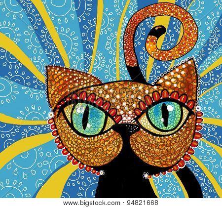 Cat brillant