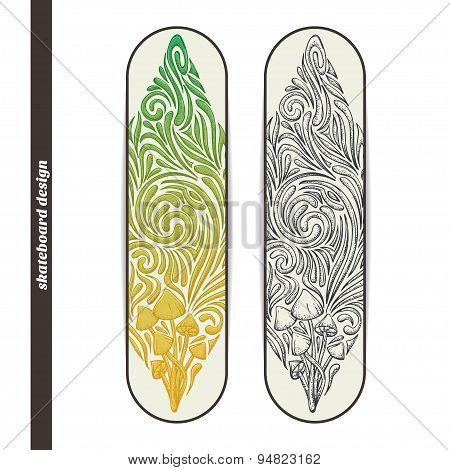 Skateboard Design Five