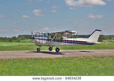 Light Plane Landing