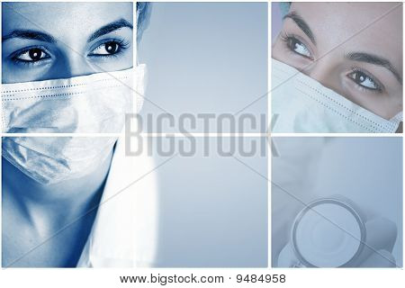 Colorful Medical Collage