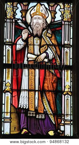 Stained Glass - Saint Ambrose