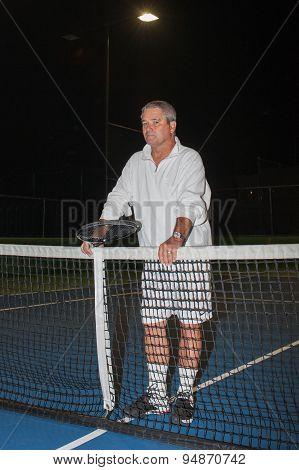Seniors playing ageless tennis