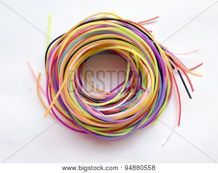 Spiral Of Colored Ropes