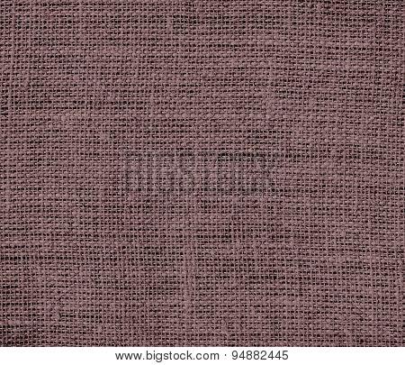 Deep taupe burlap texture background