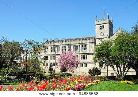 Castle Gate Library, Shrewsbury.