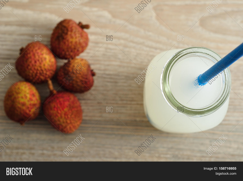 Litchi Juice Glass Image & Photo (Free Trial) | Bigstock