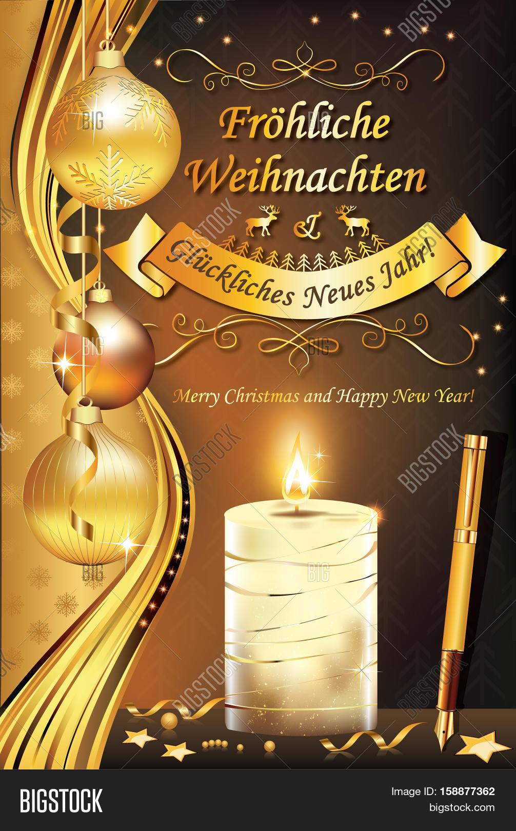 German Greeting Card \' Image & Photo (Free Trial)   Bigstock