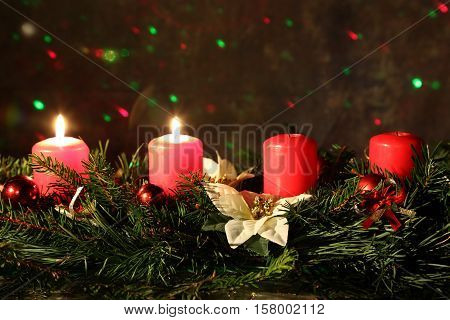 Internationally Holidays / 2. Advent / Advent is a season observed in many Western Christian churches as a time of expectant waiting and preparation for the celebration of the Nativity of Jesus at Christmas.