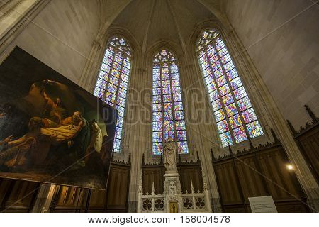 Saint Paul Saint Peter Cathedral, Nantes, France