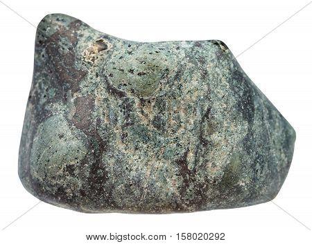 Pebble Of Suevite (impactite Breccia) Stone