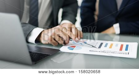 Business Career Meeting Communication Concept