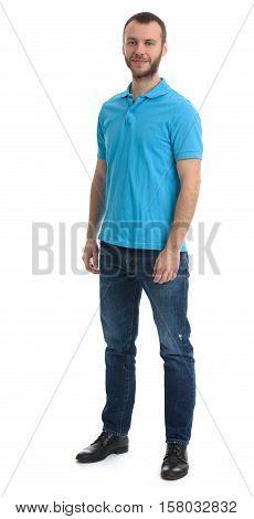 Full Length Portrait Of Bearded Dude
