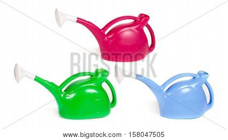 Several Color Watering Cans