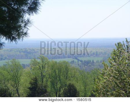 Overlooking The Valley In Charlottesville