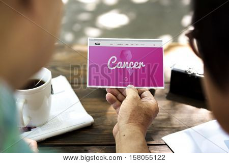 Cancer Cell Growth Chemotherapy Diagnosis Concept