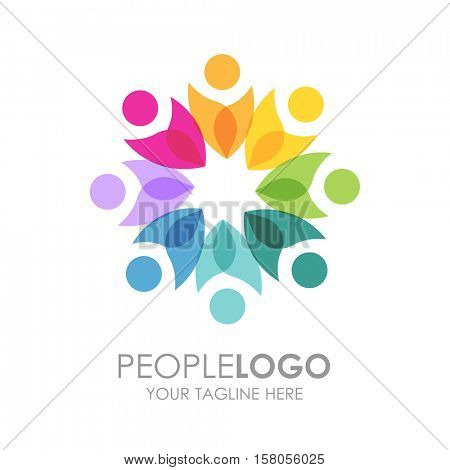 People Logo design.