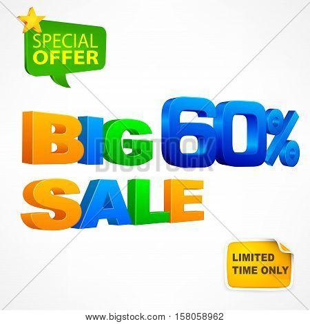 Big Sale Inscription 60%