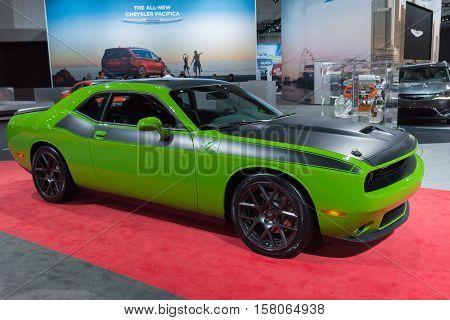 Dodge Challenger Green
