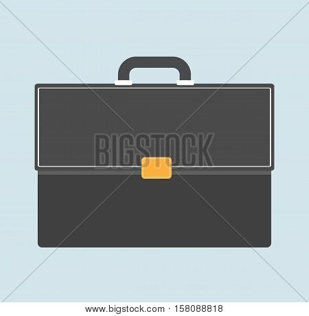 briefcase business flat - briefcase style icon design sign illustration vector stock